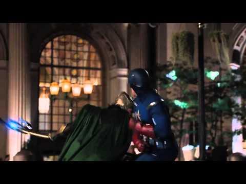 Los Vengadores: Capitán América & Iron Man vs Loki.