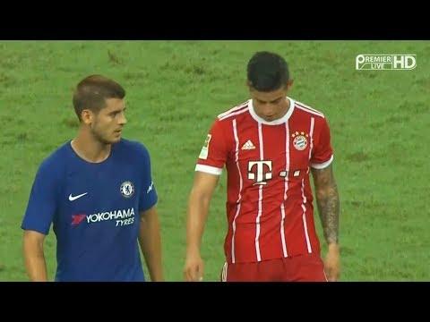 James Rodriguez vs Chelsea HD 720p (24/07/2017) by JamesR10