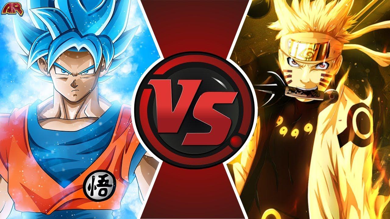 Download GOKU vs NARUTO ANIME MOVIE! (Naruto vs Dragon Ball Super Movie) | Cartoon Fight Animation