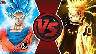 GOKU vs NARUTO ANIME MOVIE! (Naruto vs Dragon Ball Super Movie) | Cartoon Fight Animation