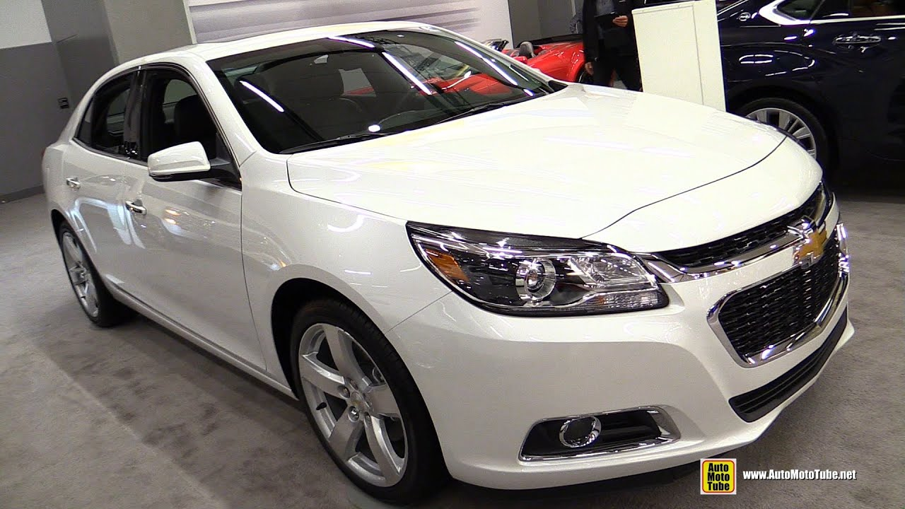 2015 Chevrolet Malibu LTZ   Exterior And Interior Walkaround   2015 Ottawa  Gatineau Auto Show   YouTube