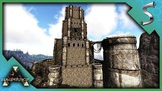 JOURNEY TO THE RAGNAROK CASTLE - CLEARING THE CASTLES MONSTERS! - Ark: RAGNAROK [DLC Gameplay S3E84]