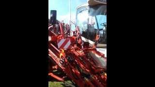 AGRO SHOW 2011 - KOMBAJN DO MARCHWI