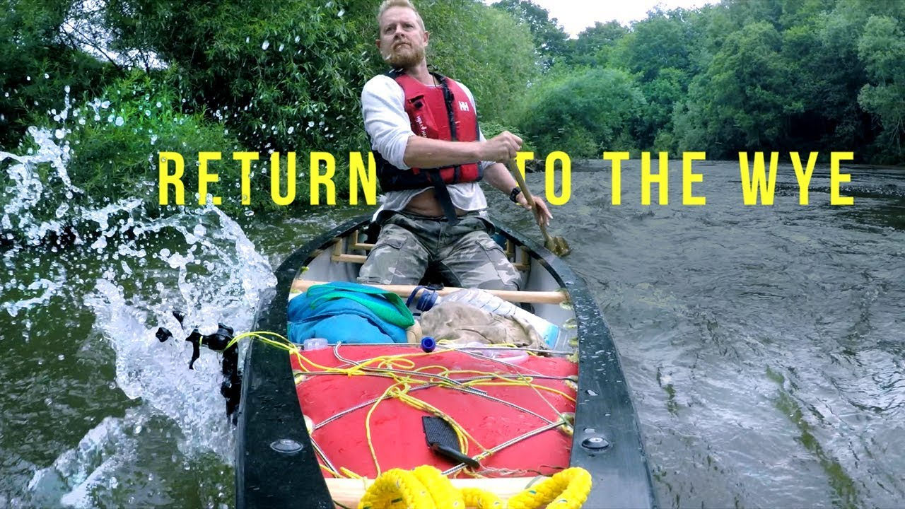 Two day canoe trip and wild camp on the River Wye ...