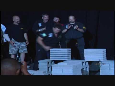 Larry Fields- 113 Concrete Patio Blocks in 10 seconds