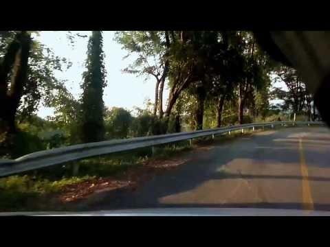 ถนนลอยฟ้า อ.สันติสุข - อ.บ่อเกลือ น่าน