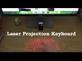 Bluetooth Laser Projection Virtual Keyboard Review