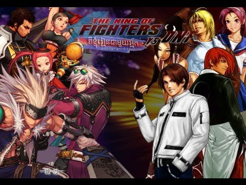 The King of Fighters vs DNF Multiplayer para dois Jogadores