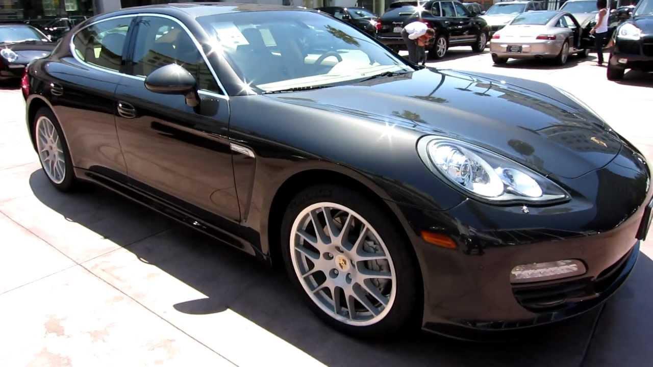 2010 Porsche Panamera S Carbon Grey Beige Sport Package