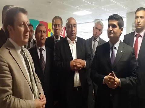 Karakoçan'da  Z Kütüphane Fatih Ilk Okulunda Açılış