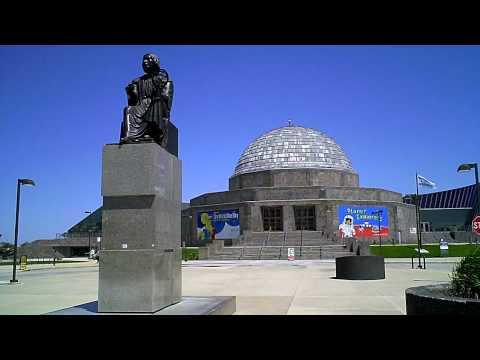 Adler planetarium in Chicago, IL