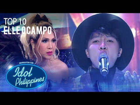 "Elle Ocampo performs ""Ikaw""   Round  Idol Philippines 2019"