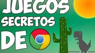 TOP 10 JUEGOS OCULTOS DE GOOGLE || SIN INTERNET||
