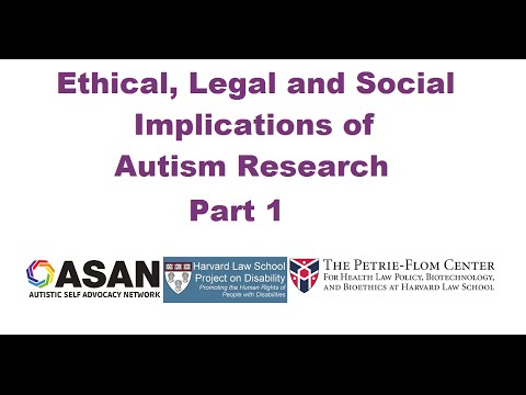ASAN Ethical, Legal and Social Implications Symposium: Panel 1
