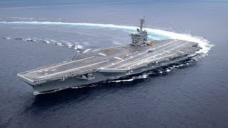 Gambar cover Extreme High-Speed Maneuvers by U.S. Navy Aircraft Carriers & USS Milwaukee Ship