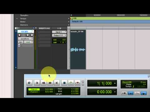 How to use playlist and Loop recording in Pro Tools