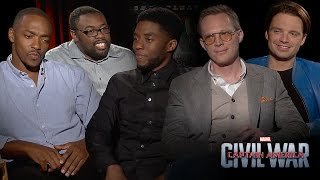 Sit Down With The Stars: Andre Talks True Friendship with The Cast of Captain America: Civil War
