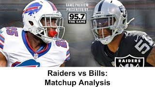 Matchup Analysis: Bills vs Raiders