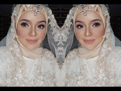 MUA Bellaz : Makeup Akad Nikah Kahwin, Lawa nya Pengantin!