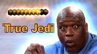 Shaquille O'Neal Gets True Jedi For The First Time
