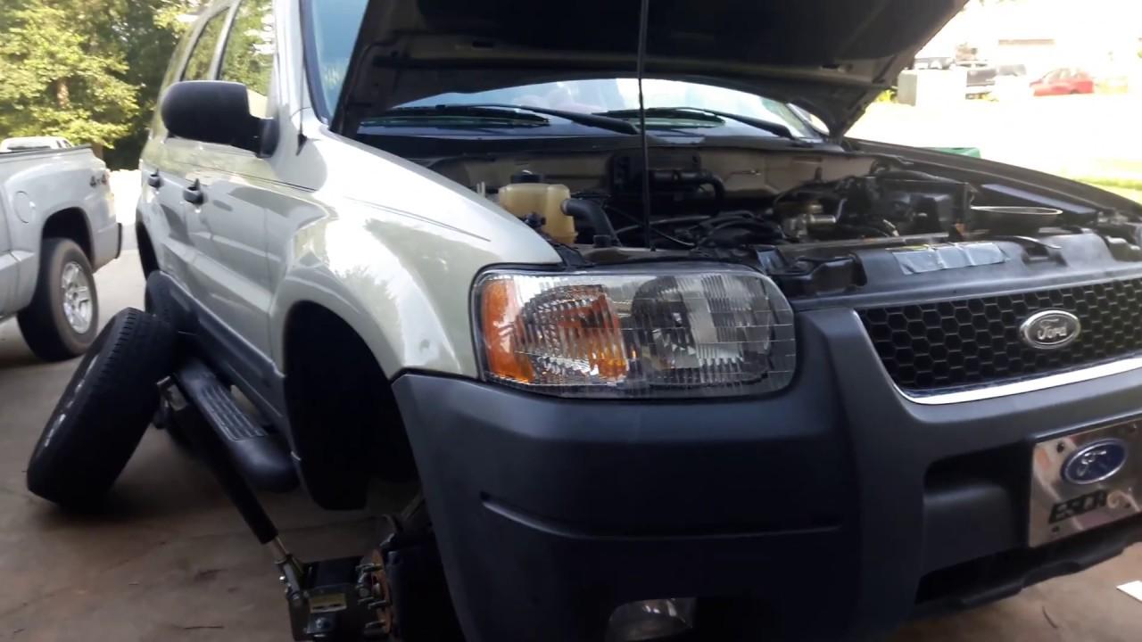 03 Ford Escape Alternator Removal