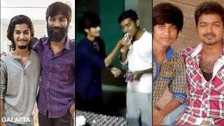 Dhanush's Birthday Bash For Jilla Fame Saran At Vada Chennai Shoot | Vetrimaaran