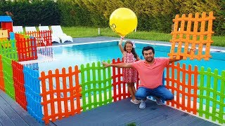 Öykü Wants Colorful Fences for Swimming Pool