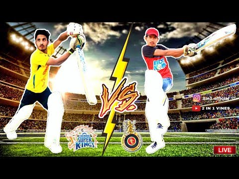CSK Vs RCB | IPL LIVE MATCH | 2 IN 1 VINES