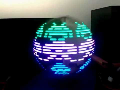 POV Globe Display RGB