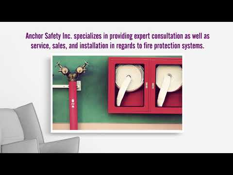 Fire Protection System Supplier in Longview, TX | Anchor Safety Inc.