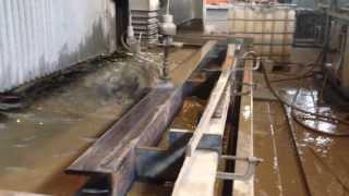 Смотреть видео Гидроабразивная резка в Екатеринбурге