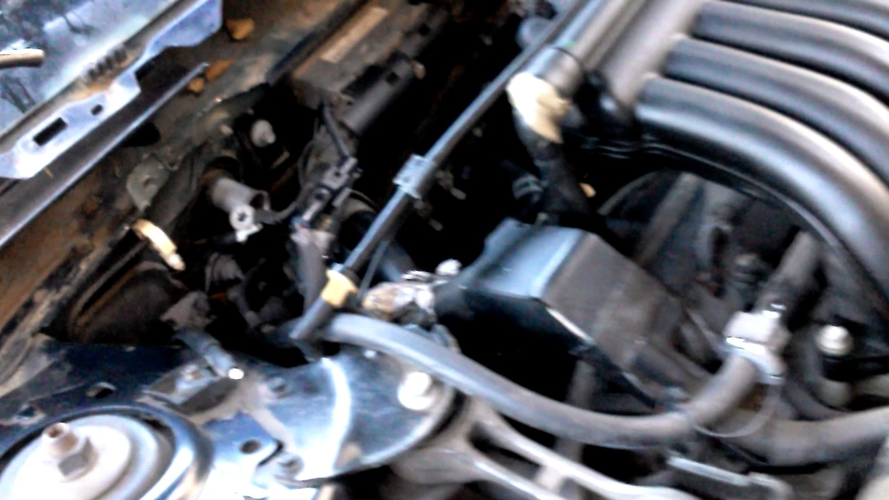 Ford Taurus Evaporator Accumulator Heater Core Coolant Tank Vents Hvac Box How To