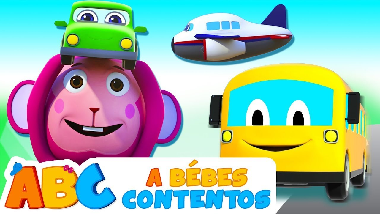 ABC Español   Canción de los Vehículos - Canción Infantil Animada