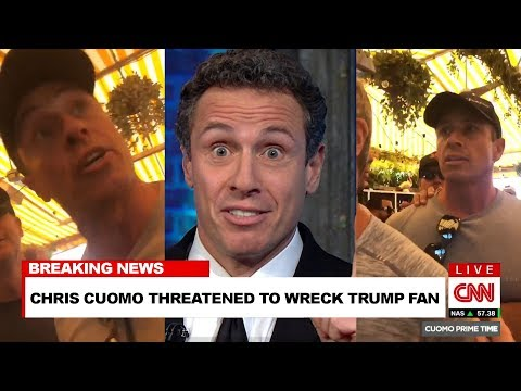 Chris Cuomo Fight; Trump Supporter Calls CNN Anchor Fredo