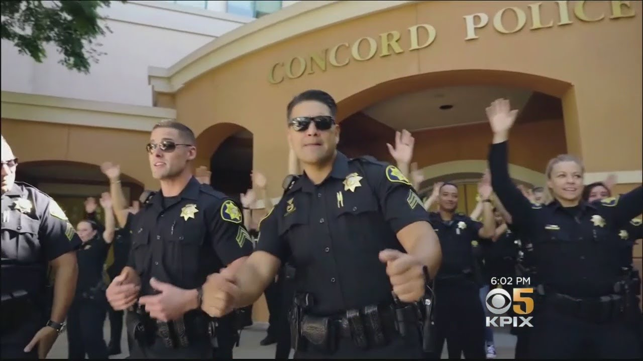 Concord nc police department lip sync challenge