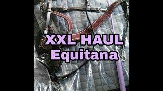 XXL Equitana Messe Haul    Unboxing