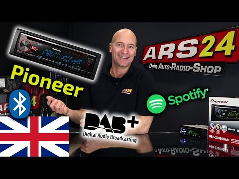 Carstereo with digital audio broadcasting DAB+ | Pioneer DEH-X7800DAB | REVIEW | ARS24.COM