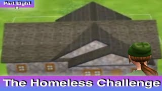 The Sims 4: Homeless Challenge // Building A Shelter (Part 8)
