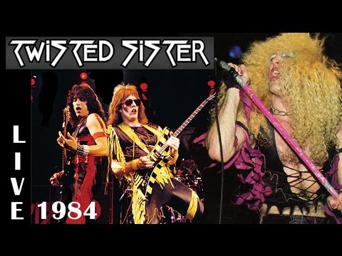 TWISTED SISTER - Live New York 1984 (Heavy metal)