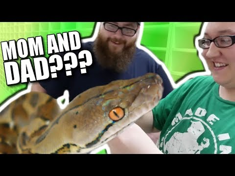 HIS FIRST GIANT SNAKE! **ERIC'S NEW PYTHON** Brian Barczyk