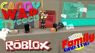 Let's Play Roblox! Candy War Tycoon