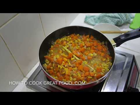 Carrot Coconut Corn Lemongrass Soup Recipe Vegan