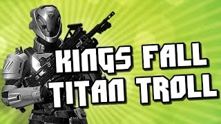 Kings Fall Titan Slam Troll! Kill Your Friends In Elevator!