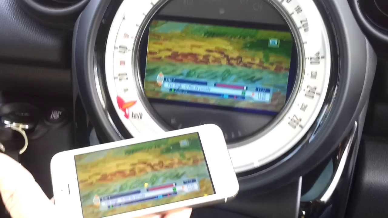 Apple in car e TV Anywhere Mini Cooper - Star Motors
