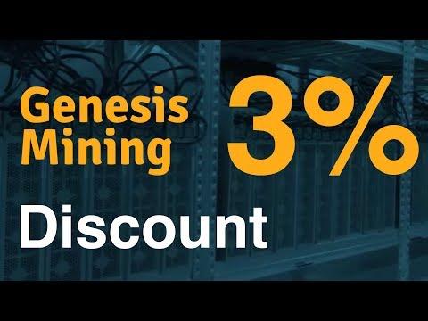 Genesis-Mining 3% Off + 6% Hashpower-Bonus [HowTo]