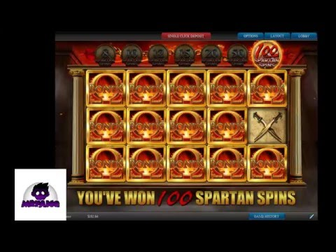 Fortunes of Sparta HUGE WIN 2016 03 17