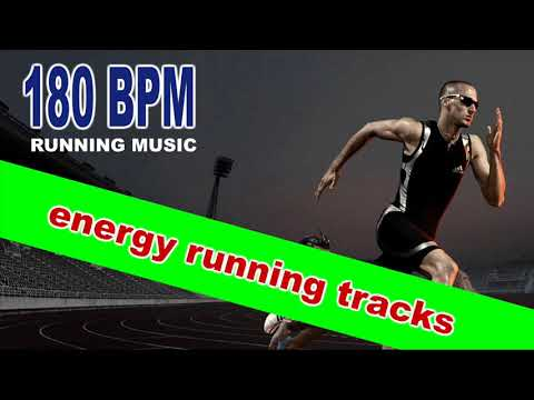 180 BPM Energy Running Tracks (60 Minutes Unmixed Compilation for Fitness & Workout @180 Bpm)