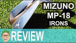 MIZUNO MP18 IRONS