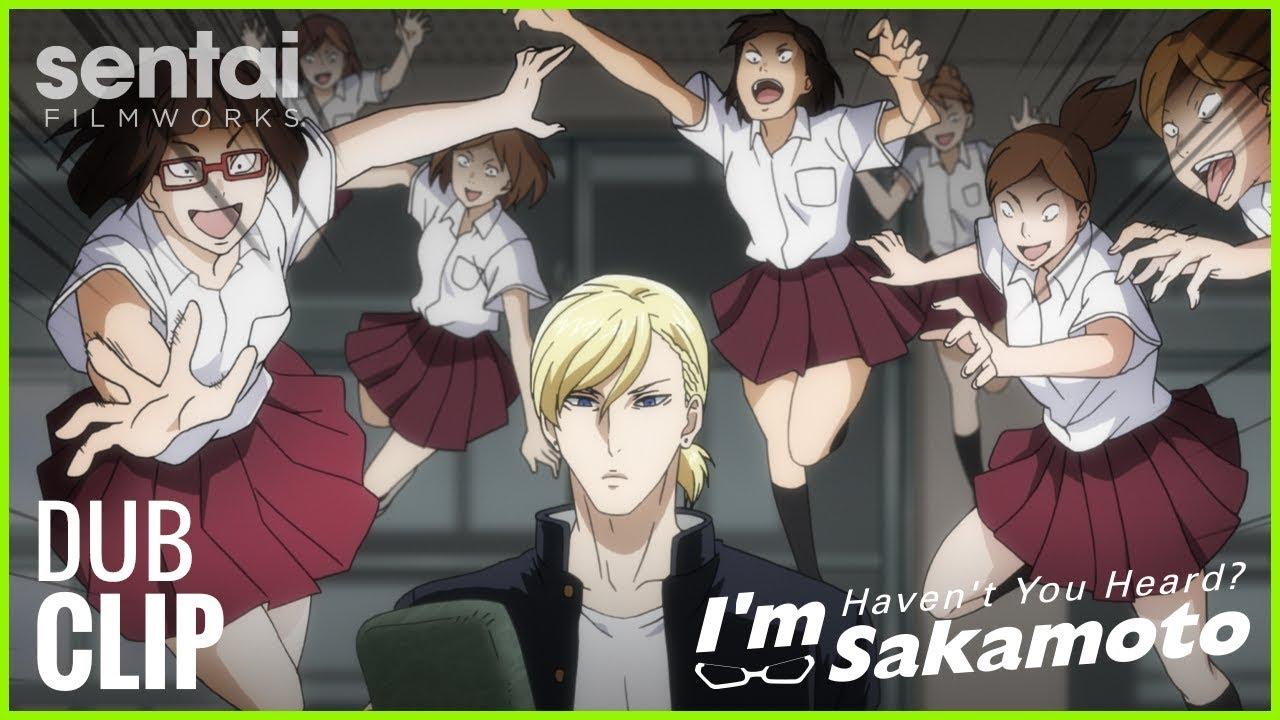 Haven't You Heard? I'm Sakamoto Official English Dub Clip #3