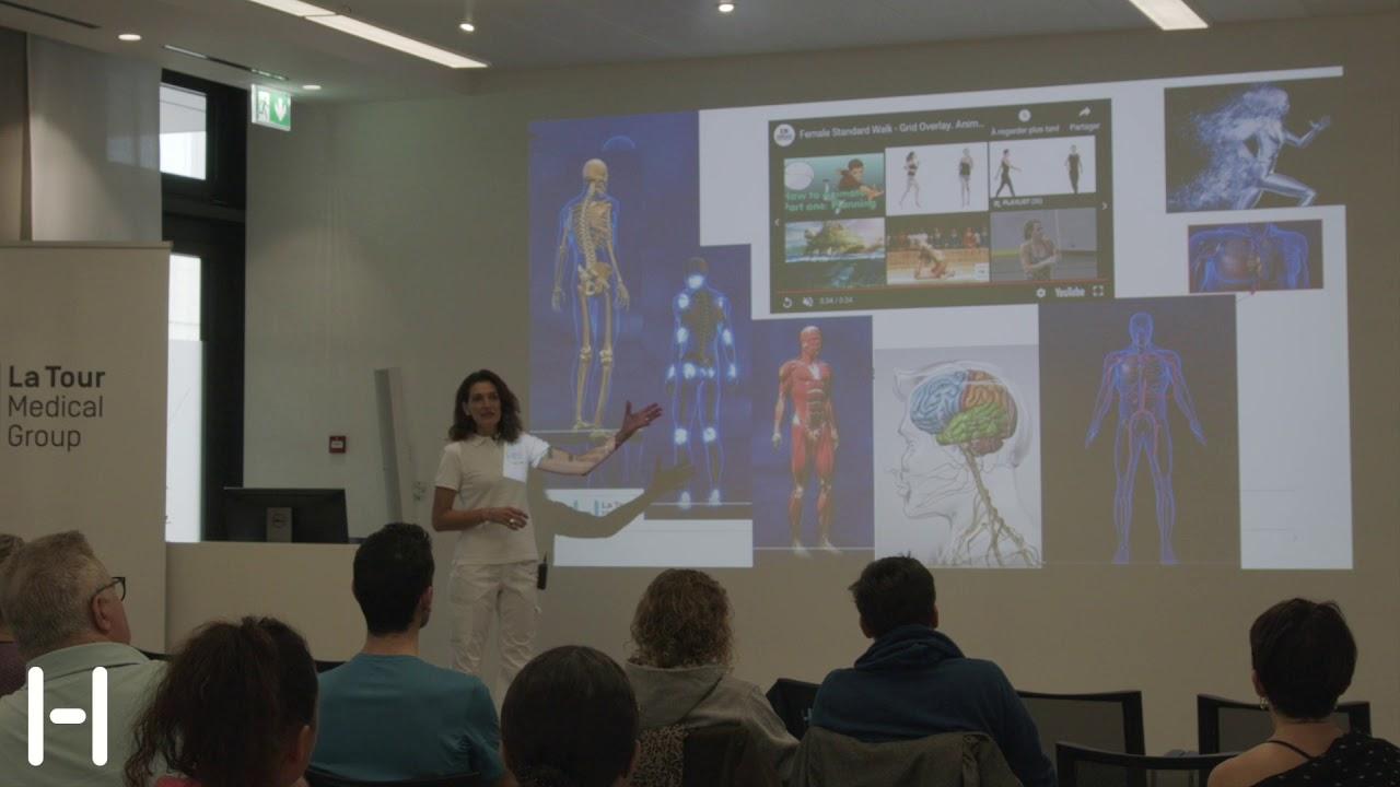 Download Conférence - La marche, votre atout santé - Laurence Vignaux, physiothérapeute cardio-respiratoire